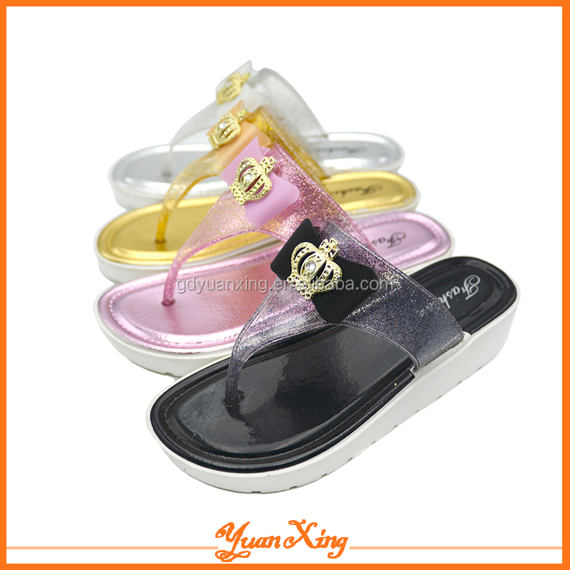Jelly Flip Flop Shoes Fashion Sandal For Women Summer Sandals