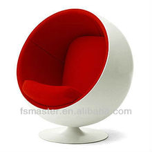 ball chair by Eero aarnio fiberglass material leisure chair/classic chair/Hot sale chair/Euro style chair /modern chair