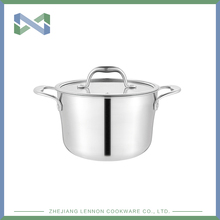 Hot selling factory direct selling price cookware set stainless steel pot