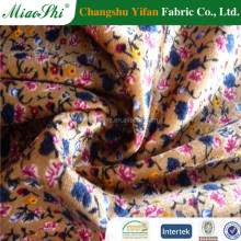 2016 Haining Warp 100% Polyester Velvet Suits Designs Fabric With Cation For Man Suit