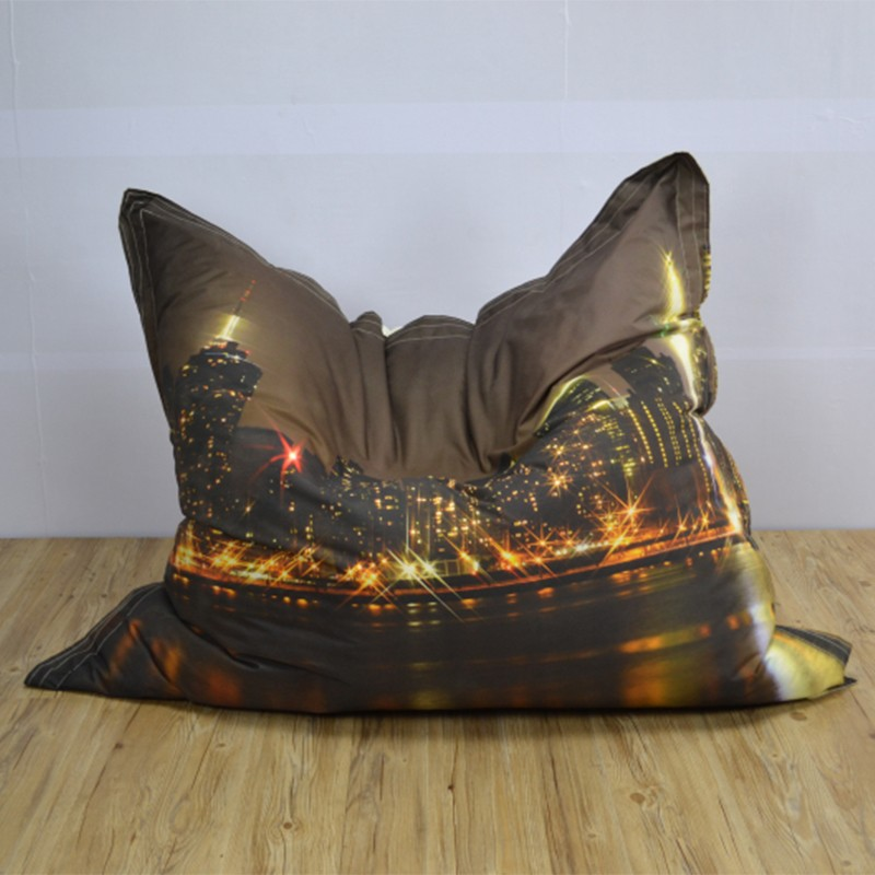 sitzsack indoor outdoor bean bag giant printing cushion promotion chair gift sofa beanbags buy. Black Bedroom Furniture Sets. Home Design Ideas
