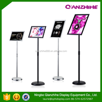 display rack menu board A3 A4 display stand advertising boards