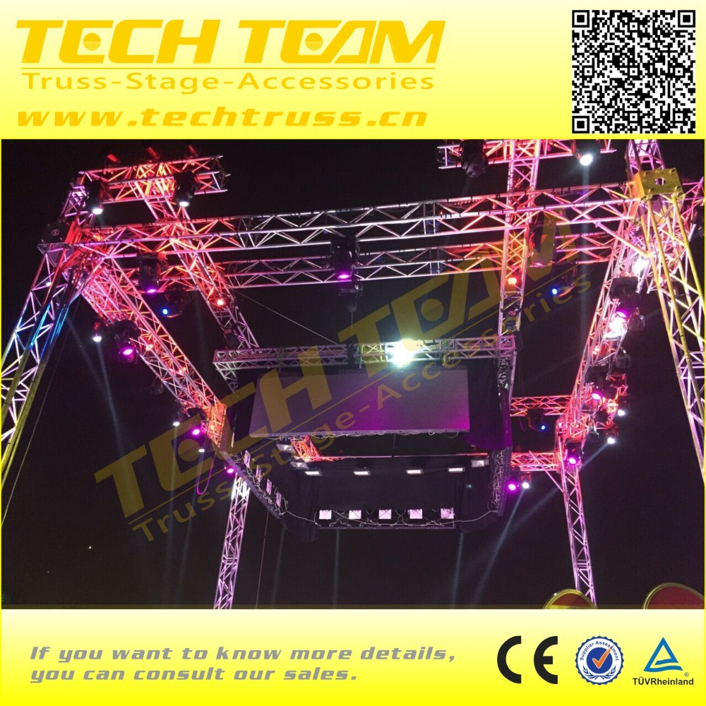 Concert Triangle Stage Truss Lifting Truss System