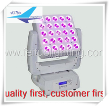 led matrix moving head 5x5 12w beam 4in1 moving head led