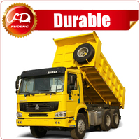 Sinotruk howo hp336 6x4 10 tires left hand drice tipper truck for sale