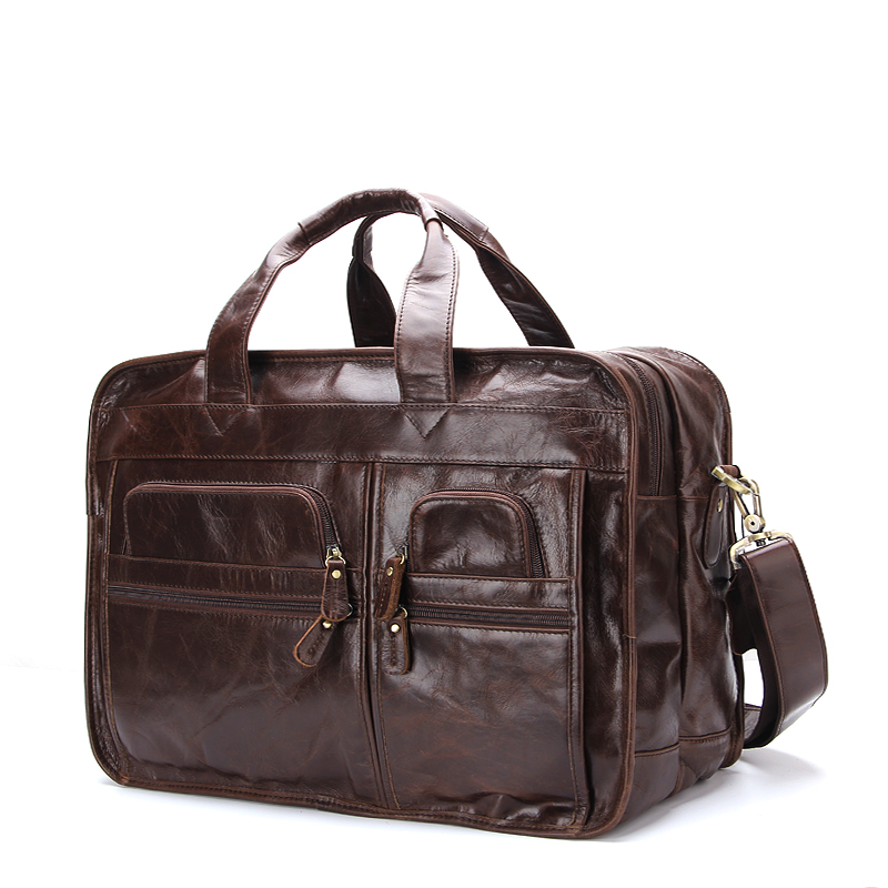 New Arrived Leather Travel Bag Crossbody Laptop luggage bag For Man Travelling Computer Bag