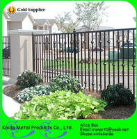 customized decorative low price wrought iron fence