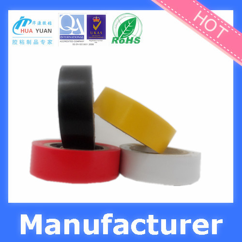 Custom Single Sided Adhesive Side and Offer Printing Design Printing soft PVC electrical insulation tape