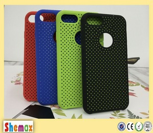 Cellular phone silicon holder mobile dot silicon cell phone cover case for Samsung j7 2017