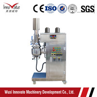 5L Lab Vacuum Emulsifying Mixer for Cosmetic, Pharmacy, Food and Chemicals