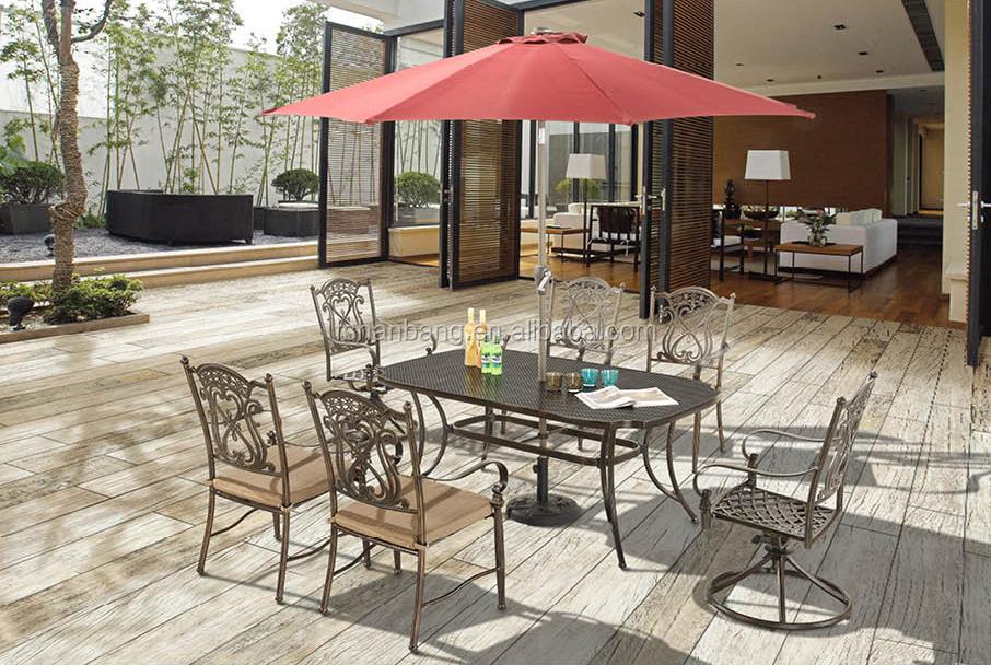 Premium Quality Garden Patio Terrace Deck Cast Aluminum Bronze Rooms To Go Ou