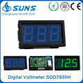 Blue panel power DC0-300A micro automotive ammeter,digital dc ammeter and voltmeter with output
