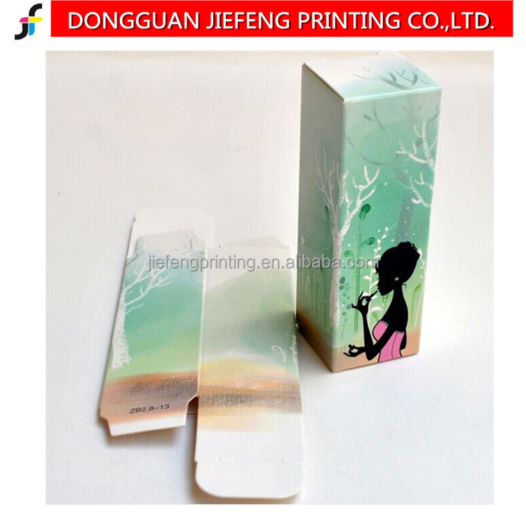 Customized lip stick paper packaging box for cosmetic