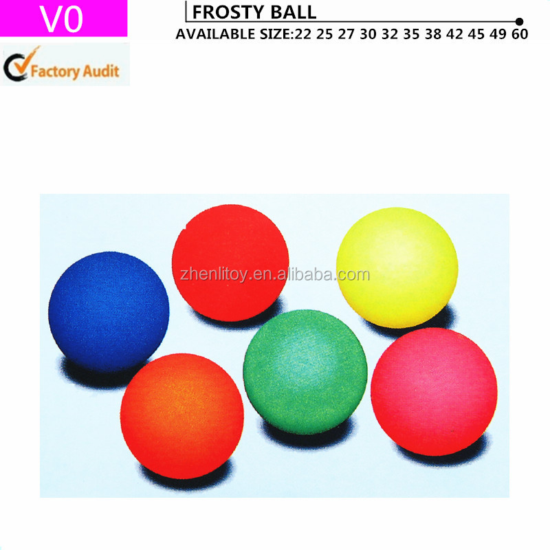 Solid color hi bounce ball
