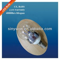 SYW 2013 Hot Sale 5W E27/E14 china cabinet light bulbs