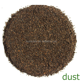 Fermented tea China black dust tea