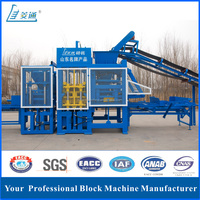 With factory price concrete block making machine uk algeria for sale