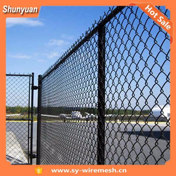 50*50MM galvanized steel chain link fence panels