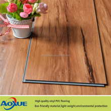 interlocking floor tiles/plastic pvc flooring wood look