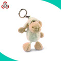 OEM factory price stuffed sheep keychain soft plush sheep keychain