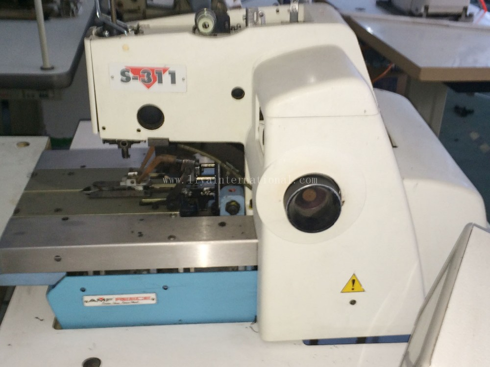 Second Hand Reece S-311 programmable eyelet buttonhole machine Used