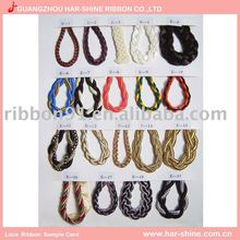 braid rope colorful ribbon for clothes accessories