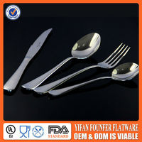 Flatware type,Stainless steel spoon and fork knife set