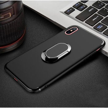 DFIFAN high quality matter tpu cover for iphone x cell phone mobile case  for iphone x cases with ring hold stand