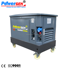 60 dB !!! POWERGEN Soundproof Super Silent Gasoline Generator Set 10KVA