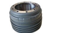 high quality new process brake drums used for CNHTC heavy trucks from China alibaba