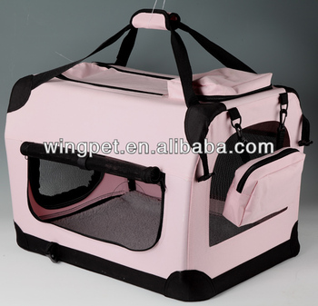 Foldable Pet Carrier dog Crate