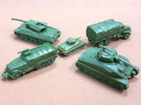 Popular custom 3D making plastic mini figures for war game
