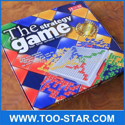 2014 New Blokus Game The Strategy Game Educational Game For Whole Family