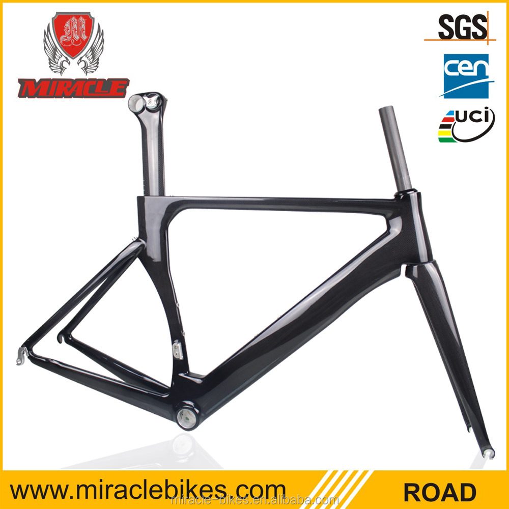 super beautiful carbon cycle frame/ miracle road cycling carbon frame