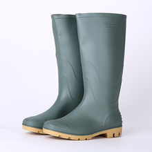 Light weight non safety cheap pvc rainboots