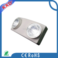 ABS hot sell Led two spots rechargeable emergency lights