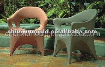 Roto mold indoor plastic table and chair by LLDPE