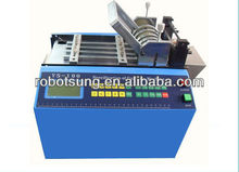 Braided expandable mesh sleeve cutting machine