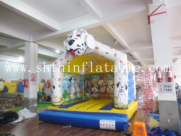 cheap PVC inflatable dog bouncer