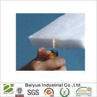 BS5852 Polyester Flame retardant wadding /batting/ felt