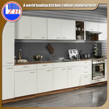 2017 new modern design Lacquer Kitchen cabinet for exporting