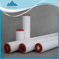 Small sample order PVDF wine filter cartridge for a trail