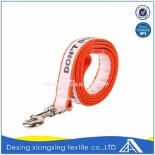 Polyester Customize Carabiner Latch Neck Strap For Dog Factory