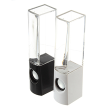 Water Fountain Speakers Dancing LED Lights Computer mobile phone MP3/4 iPod