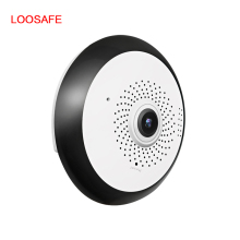 LOOSAFE 3MP 360 Wireless WIFI Camera Wide Angle Wifi Panoramic Camera