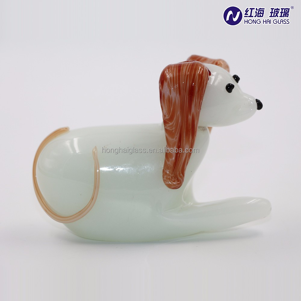 Glass animal ornaments - Dog Strong Ornaments Strong By Honghai