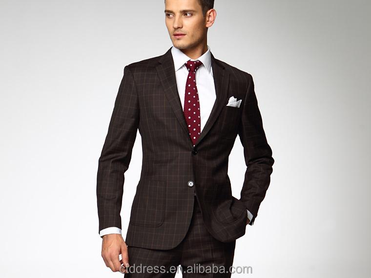 Ctddres Brand office uniform man suit 2014 Design coat pant men ...