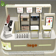 Hot sale yogurt bar counter topping display counter manufacture