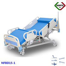 NFBD15-1 Positionable Hospital Bed For Acute Care, Vibrating Adjustable Hospital Bed