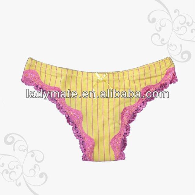 2017 hotsale popular sweet swiss lace Lady panty